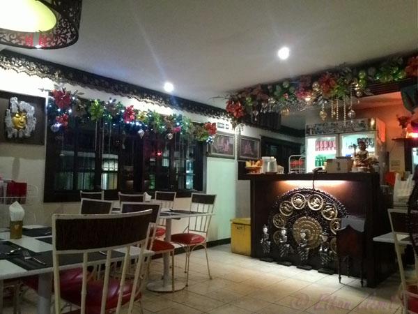 Mae Krua restaurant interior on F. Ramos street, Cebu