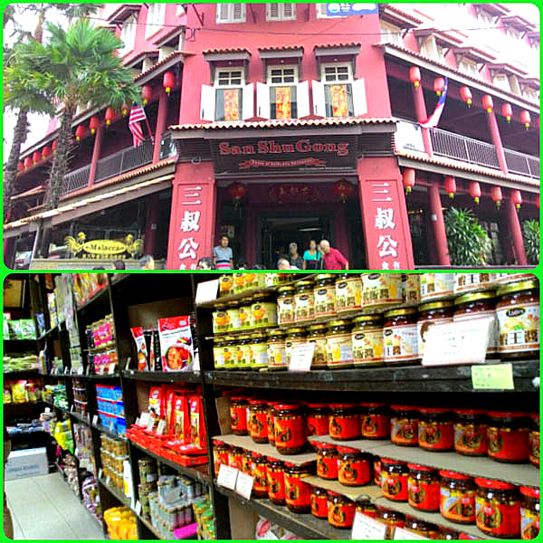 San Shu Gong on Jonker Street, Melaka