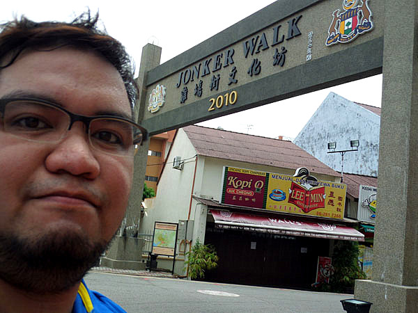 Jonker Walk northwest entrance - Melaka, Malaysia