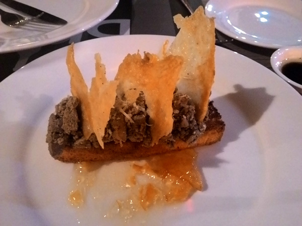 Chicken Liver Toast from Brio Wine and Dine in Mandaue City Cebu
